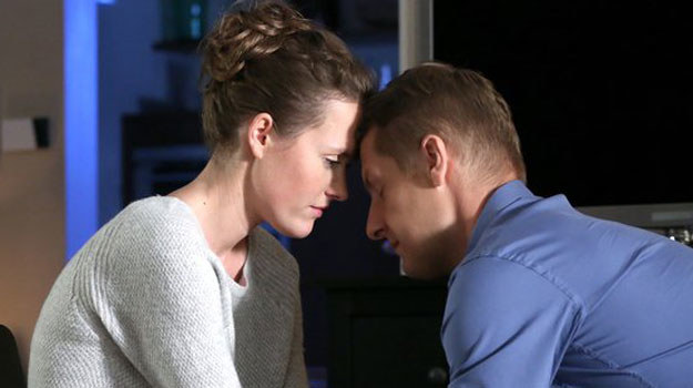 """""""M jak miłość"""":  Paweł próbuje pogodzić się z żoną, ale Ala jest nieprzejednana /www.mjakmilosc.tvp.pl/"""