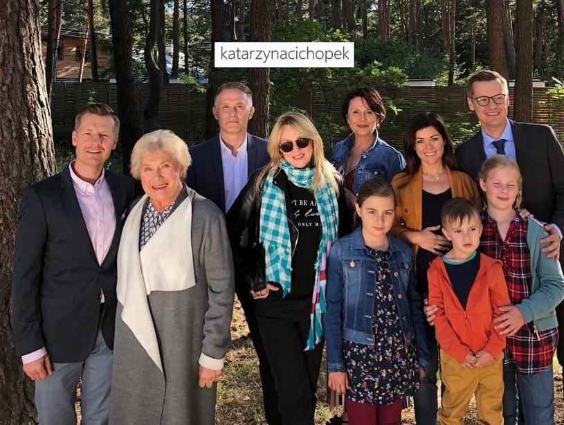 """""""M jak miłość"""": Po wakacjach zobaczymy nową bohaterkę (w tej roli Katarzyna Kwiatkowska) /Instagram /materiały promocyjne"""