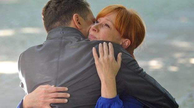 """M jak miłość"": Tomek i Agnieszka /www.mjakmilosc.tvp.pl/"