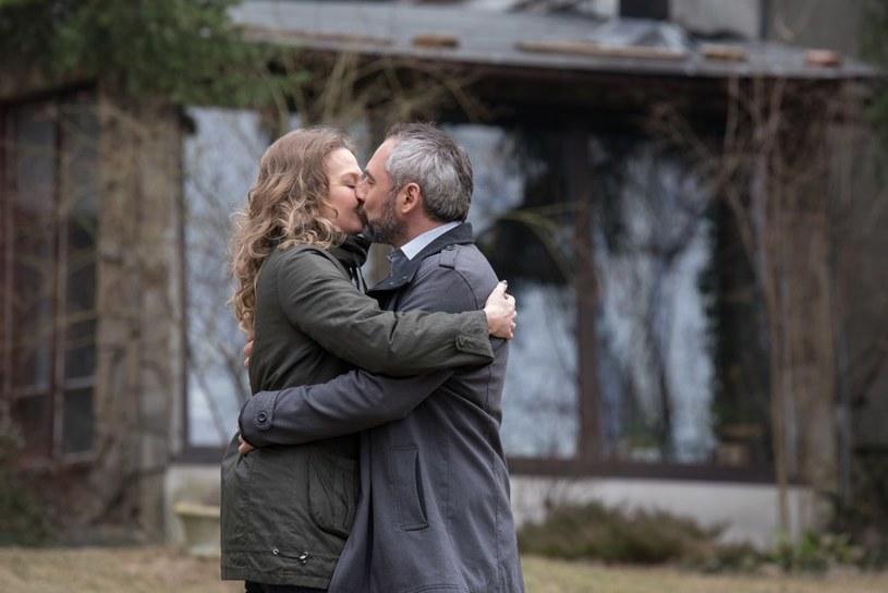 """""""M jak miłość"""": Werner i Anna /Agencja W. Impact"""