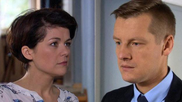 """""""M jak miłość"""": Zduński nie jest zachwycony pomysłem żony /www.mjakmilosc.tvp.pl/"""