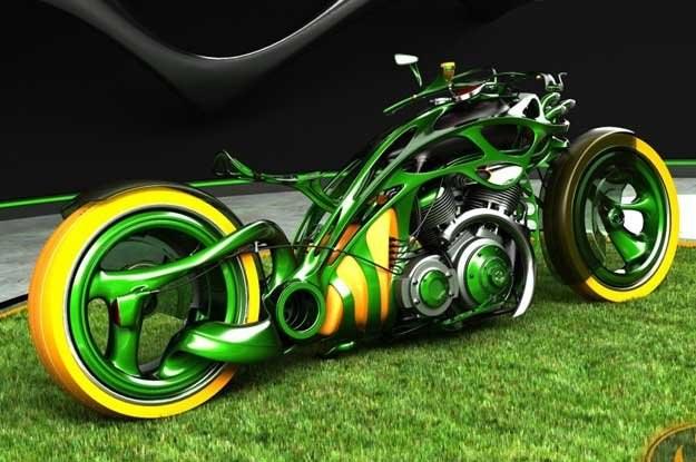 M-Org Chopper Concept /