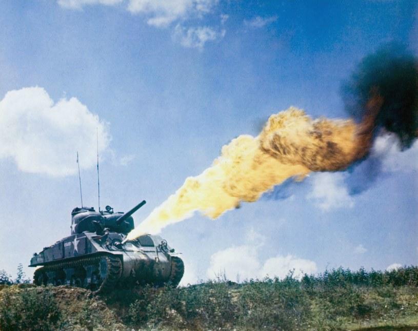 M4A3R5 Sherman z miotaczem POA-CWS-H1 /INTERIA.PL/materiały prasowe