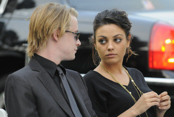 Macaulay Culkin i Mila Kunis w 2009 roku /AFP