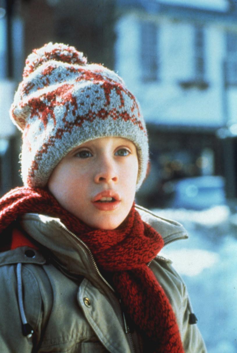 """Macaulay Culkin jako Kevin w filmie """"Kevin sam w domu"""" /AKPA"""
