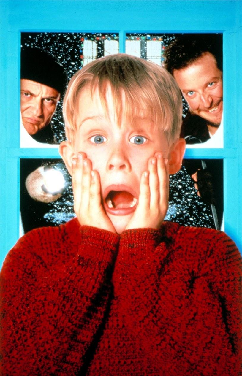 "Macaulay Culkin w filmie ""Kevin sam w domu"" /Everett Collection /East News"