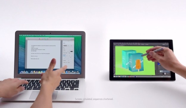MacBook Air i Microsoft Surface Pro 3 /materiały prasowe