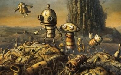 Machinarium - fragment okładki z gry /Informacja prasowa