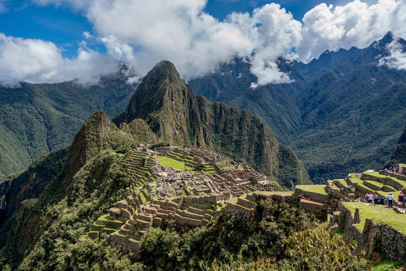 Machu Picchu to tajemnicze miasto Inków /123RF/PICSEL