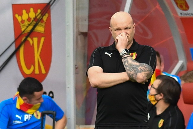 Maciej Bartoszek, trener Korony /Wojtek Jargiło /PAP