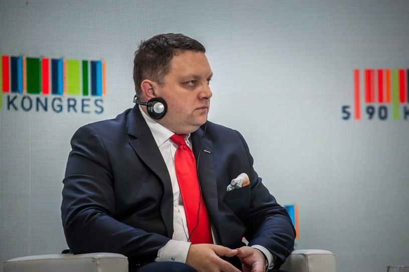 Maciej Chludziński, prezes KGHM Polska Miedź /INTERIA.PL