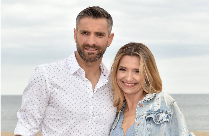 Maciej Dowbor i Joanna Koroniewska od kilku lat tworzą zgodne małżeństwo /Agencja FORUM