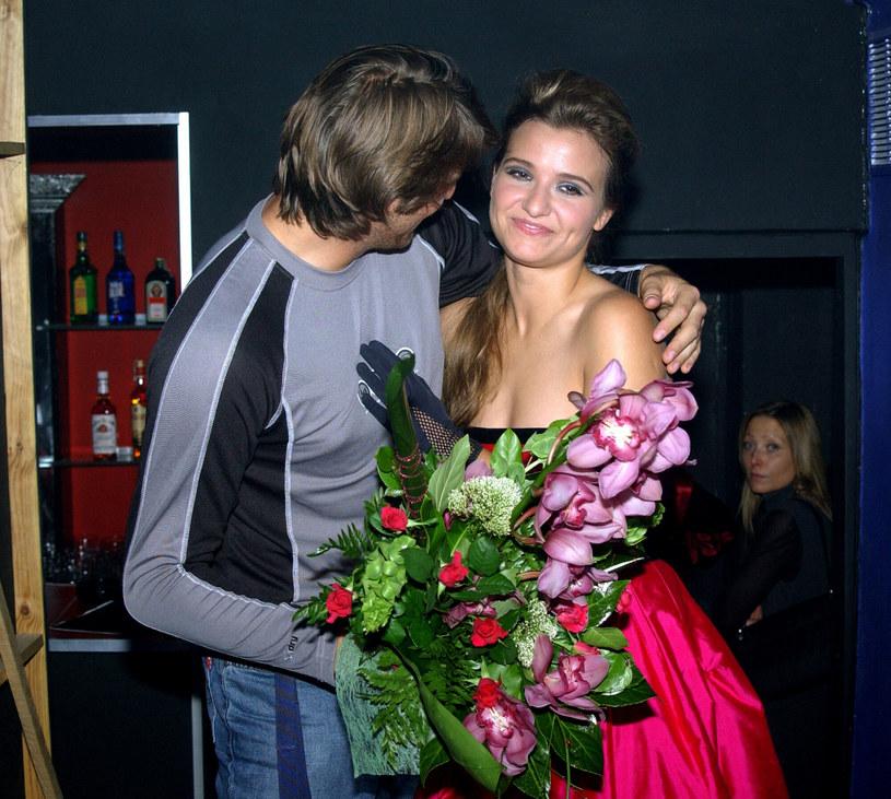 Maciej Dowbor i Joanna Koroniewska w 2003 roku /Tricolors /East News
