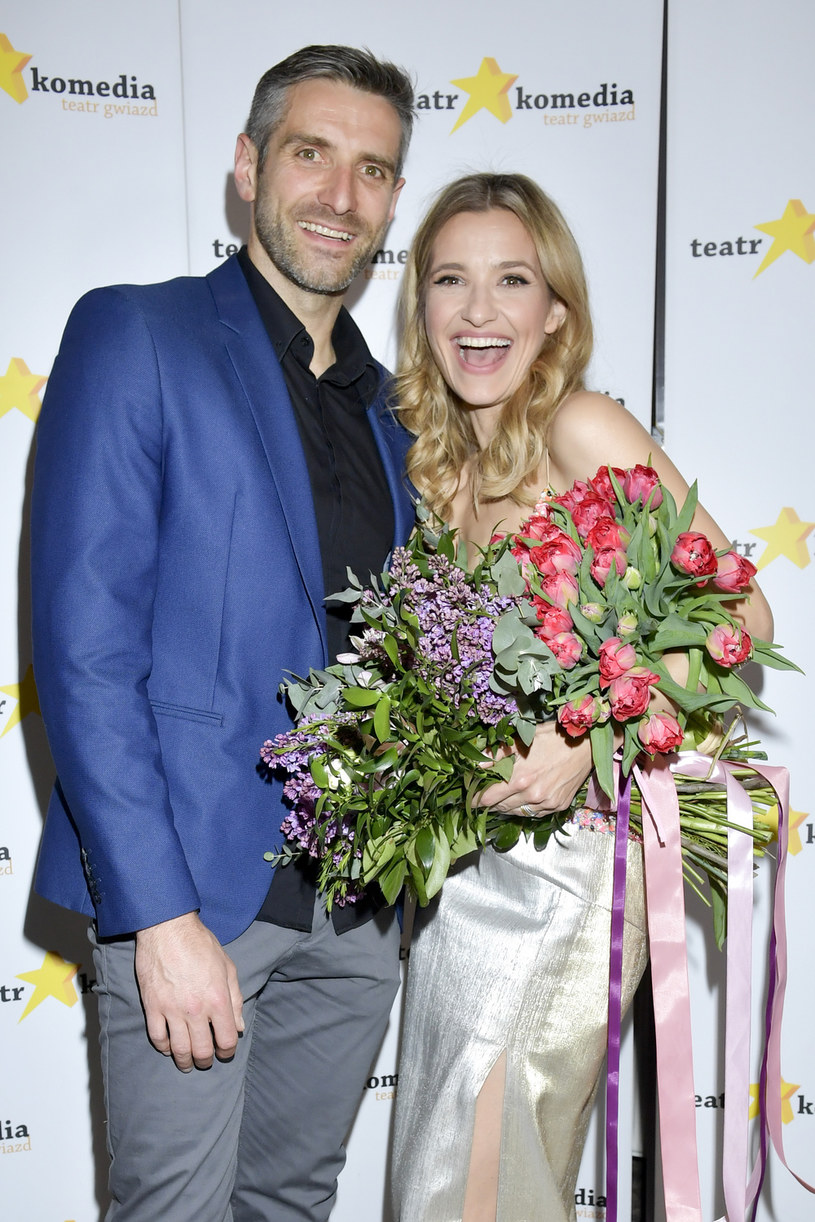 Maciej Dowbor i Joanna Koroniewska /Niemiec /AKPA