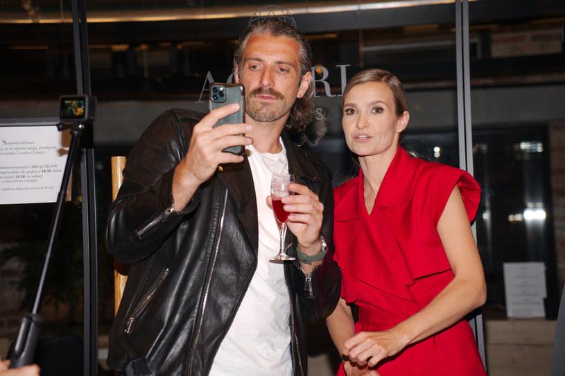 Maciej Dowbor i Joanna Koroniewska /Krzysztof Jarosz /Agencja FORUM
