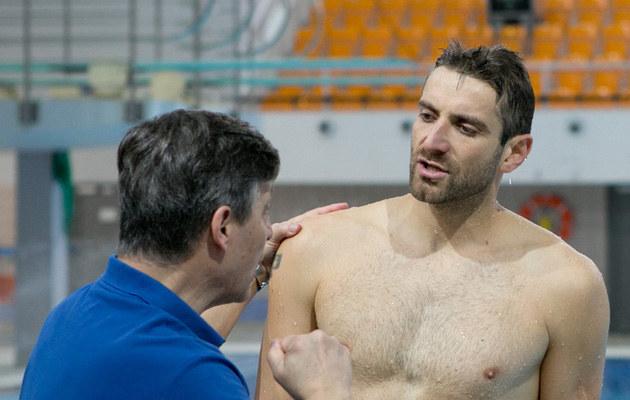 Maciej Dowbor podczas treningu /K PICTURES /AKPA