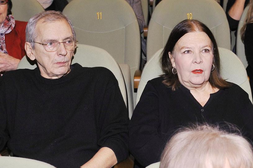 Maciej Englert i Marta Lipińska /Niemiec /AKPA