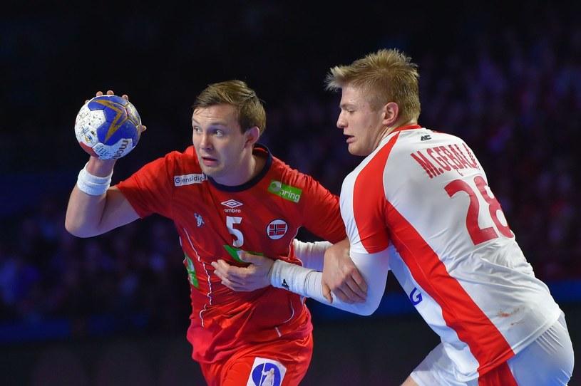 Maciej Gębala (z prawej) /AFP