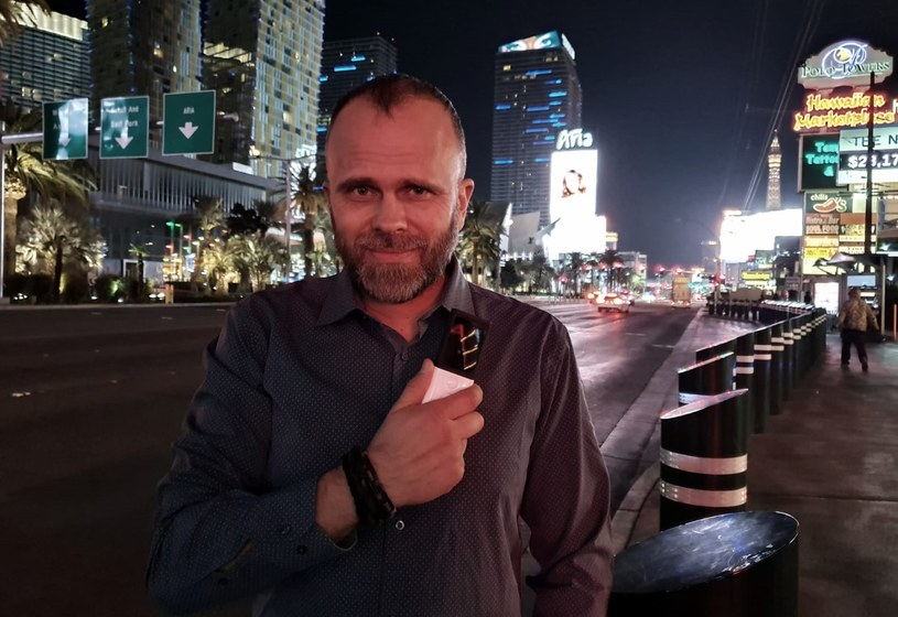 Maciej Góralski, prezes Vasco Electronics, w czasie targów CES w Las Vegas /Informacja prasowa