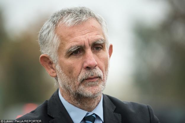 Maciej Grabowski, b. minister środowiska. Fot. Łukasz Piecyk /Reporter