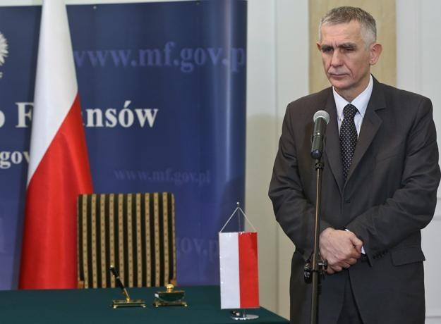 Maciej Grabowski, wiceminister finansów /PAP