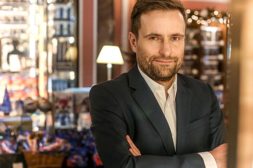 Maciej Herman, dyrektor zarządzający Lotte Wedel /Marek Wiśniewski /Agencja FORUM