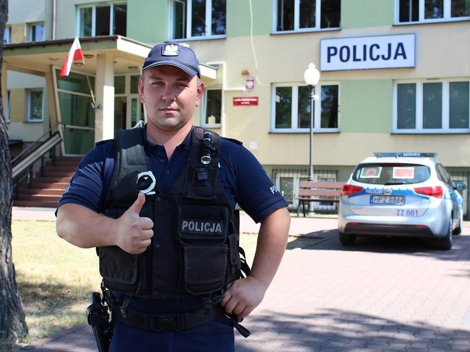Maciej Kąkol /Policja