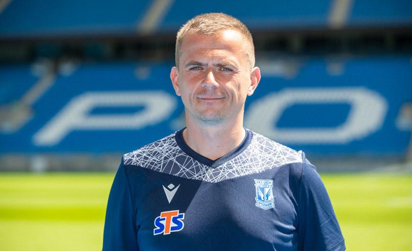 Maciej Kędziorek dołączył do sztabu szkoleniowego Lecha Poznań i będzie asystentem trenera Macieja Skorży /Przemysław Szyszka / Lech Poznań /materiały prasowe
