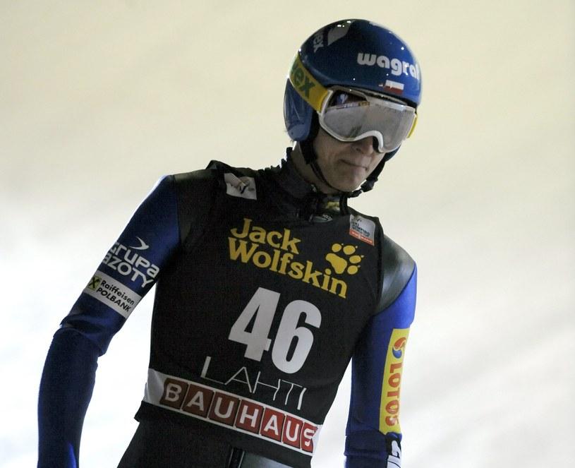 Maciej Kot był najlepszy w piątkowych kwalifikacjach do turnieju indywidualnego /AFP