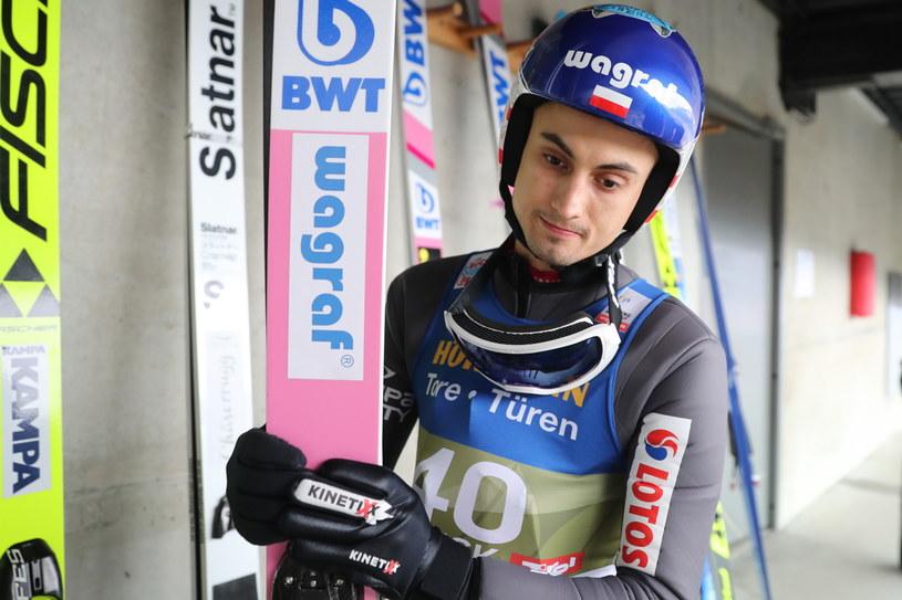 Maciej Kot w Innsbrucku / Grzegorz Momot    /PAP