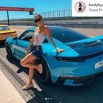 Maciej Kot z żoną zakochani w ryku silników