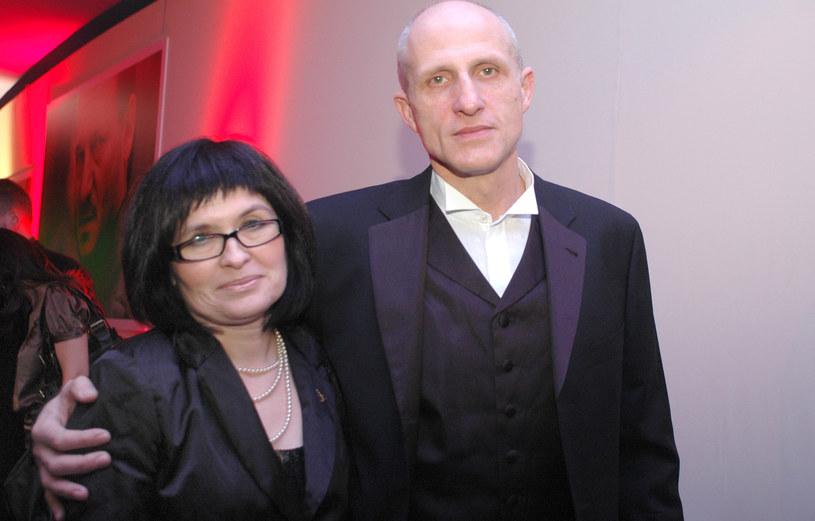 Maciej Kozłowski z żoną Agnieszką /MWMedia