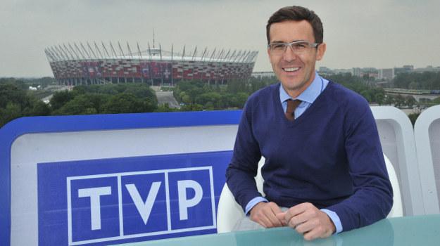 Maciej Kurzajewski będzie gospodarzem studia plenerowego TVP /fot  /materiały prasowe