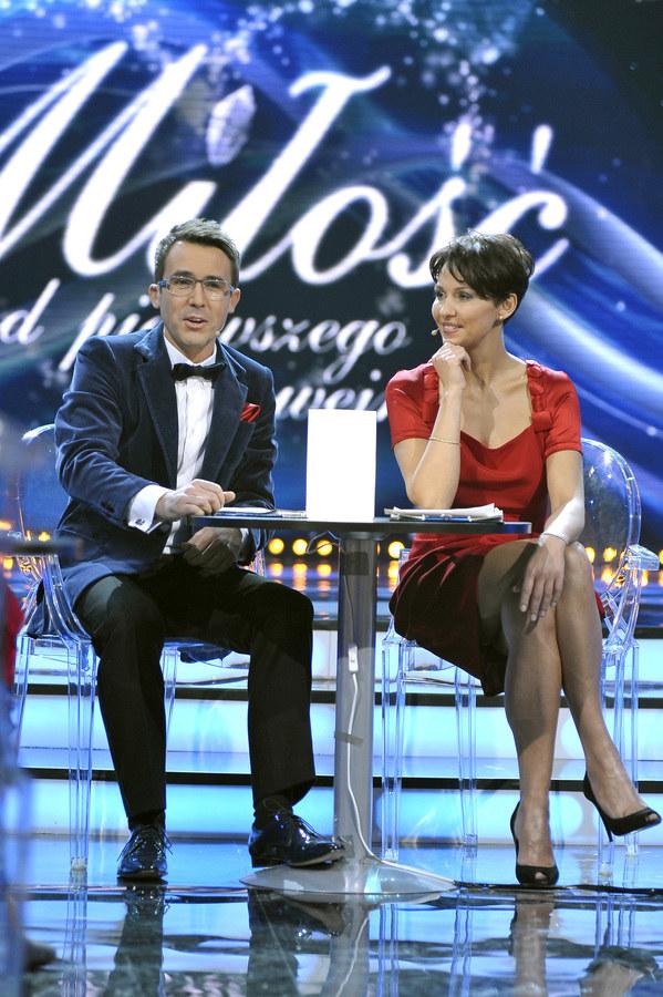 Maciej Kurzajewski i Anna Popek /Gałązka /AKPA
