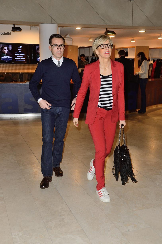 Maciej Kurzajewski z żoną Pauliną Smaszcz-Kurzajewską /East News /East News