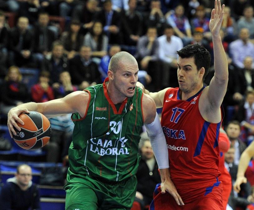Maciej Lampe ma za soba udany sezon w Hiszpanii /AFP