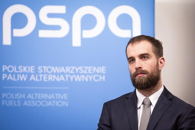 Maciej Mazur, dyrektor zarządzający Polskiego Stowarzyszenia Paliw Alternatywnych / Źródło: arch. /&nbsp