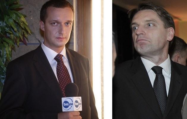 Maciej Mazur i Tomasz Lis /- /AKPA