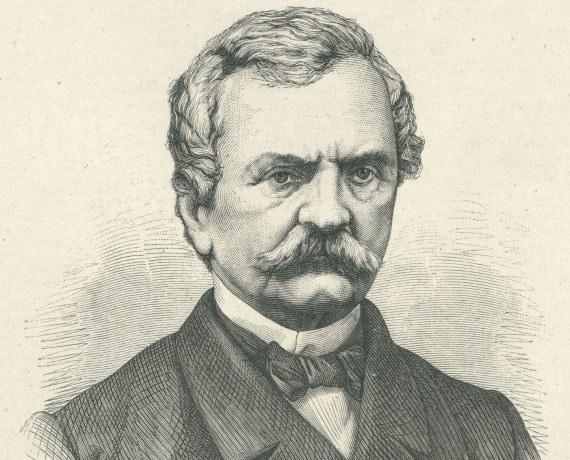 Maciej Mielżyński na drzeworycie z 1871 roku fot. Wikipedia /INTERIA.PL