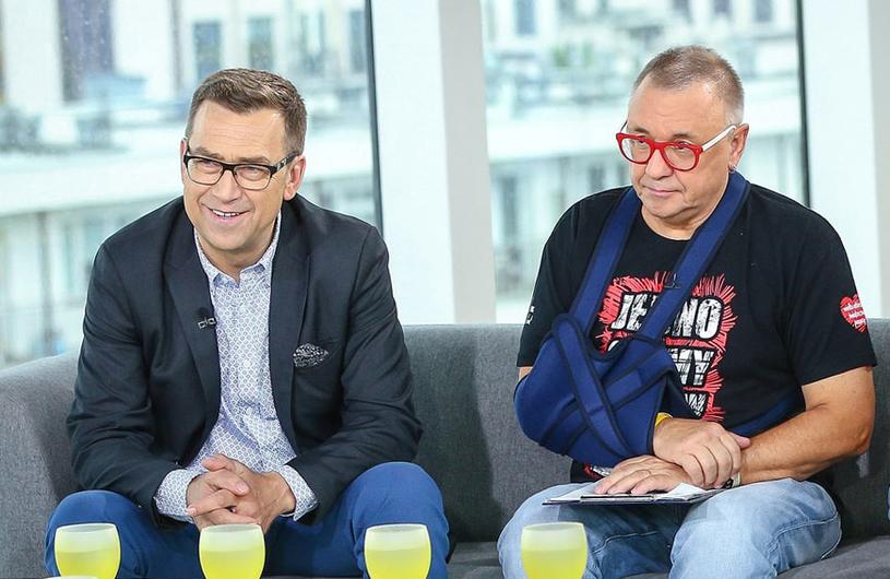 Maciej Orłoś: Program z Jurkiem Owsiakiem? Zawsze będzie polityczny /Kamil Piklikieiwcz /East News