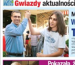 Maciej Orłoś z synem  /Świat & Ludzie