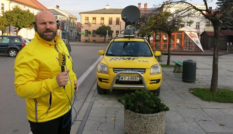 Maciej Palahicki w Żywcu /Jacek Skóra /RMF FM