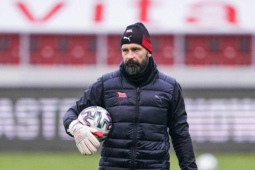 Maciej Palczewski - nowy trener bramkarzy Lecha Poznań z Cracovii Kraków /BORYS GOGULSKI / CYFRASPORT / NEWSPIX.PL /Newspix