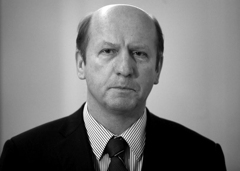 Maciej Płażyński /Andrzej Stawiński /Reporter