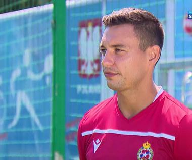 Maciej Sadlok: Napoli dużo znaczy w świecie piłki. Fajnie, że się z nimi zmierzymy (POLSAT SPORT) Wideo