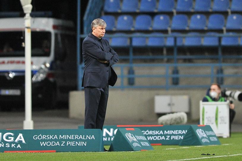 Maciej Skorża, trener Lecha Poznań /Krzysztof Porebski / Newspix.pl   /Newspix
