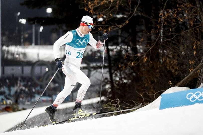Maciej Staręga na igrzyskach w Pjongczangu /Newspix