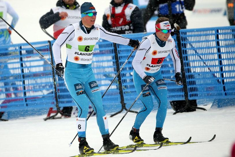 Maciej Staręga (z lewej) i Dominik Bury /Grzegorz Momot /PAP