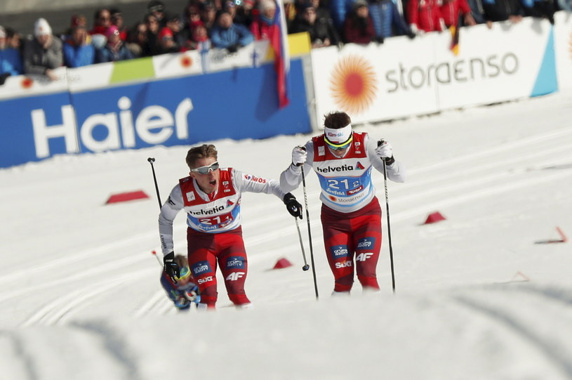 Maciej Staręga (z prawej) i Dominik Bury / Grzegorz Momot    /PAP