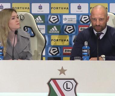 Maciej Stolarczyk po meczu z Legią Warszawa (3-3). Wideo